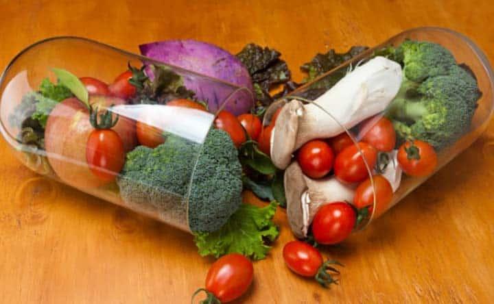 Ridurre il colesterolo con gli integratori a base di frutta e verdura