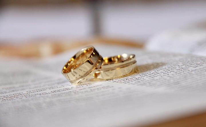 Cuore in salute con un matrimonio felice