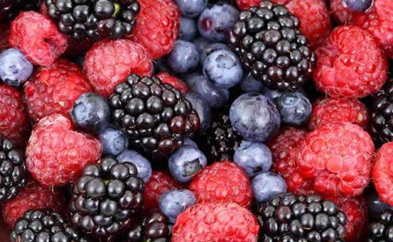 Frutti di bosco fanno bene al cuore