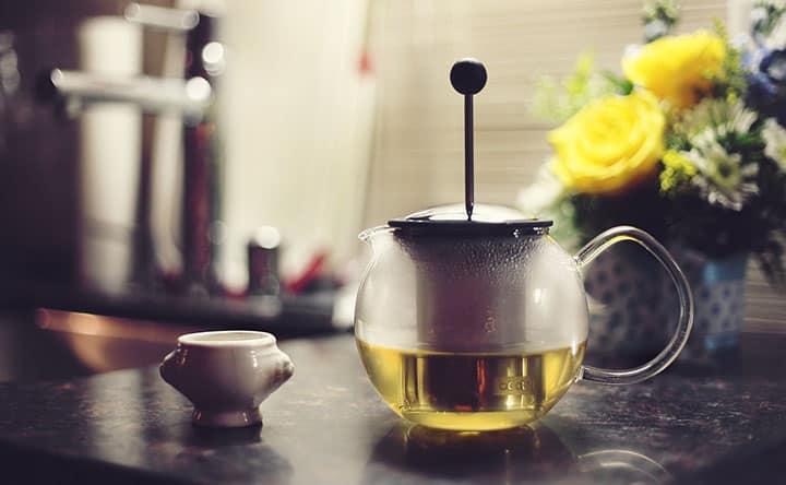 Tè verde per combattere il fegato grasso