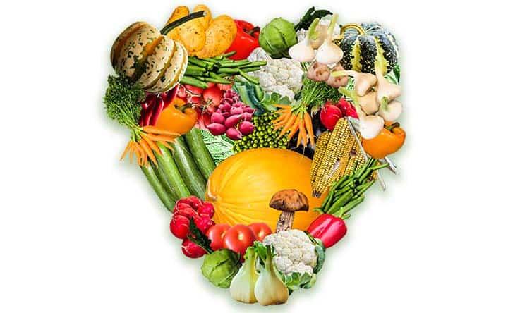 Ottenere benefici per il cuore con una dieta a base vegetale